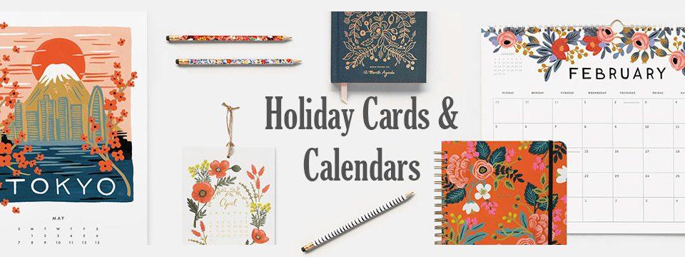 Holiday Cards & Calendars